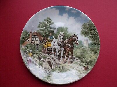 £6 • Buy Wedgwood Plate Life On The Farm 1988 - Off To Work