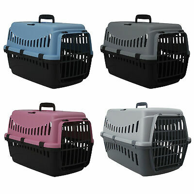 Portable Pet Carrier For Cats Puppy Travel Cage Dog Carry Basket Transporter Box • 12.50£