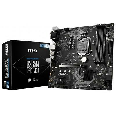 AU138 • Buy MSI B365M PRO-VDH LGA 1151 Micro-ATX Gaming Motherboard DDR4 Turbo M.2 Type-C