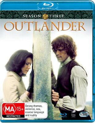 AU45.10 • Buy Outlander: Season 3  - BLU-RAY - NEW Region B