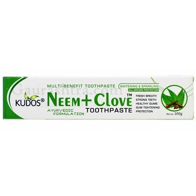 Neem Tooth Paste With Clove Herbal 100 Gm From India • 4.41£