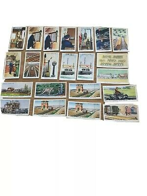 £1.66 • Buy RAILWAY EQUIPMENT WILLS CIGARETTE CARDS, 23 Cards Some Doubles