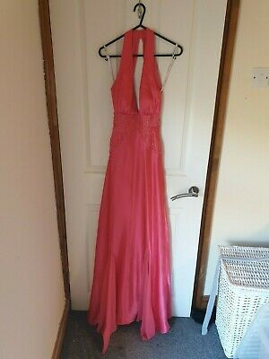 Pink Morgan & Co Fitted Dress  Prom, Ball Gown, Pagent Dress Size 8 • 45£