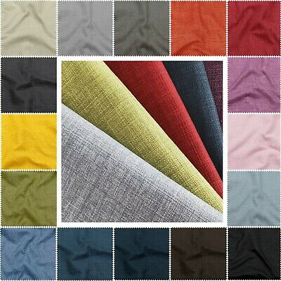 £7.99 • Buy Antler Linens Soft Linen Look Heavy Furnishing Upholstery Water Resistant Fabric