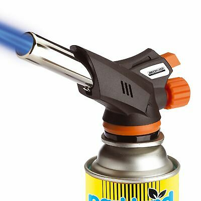 £18.95 • Buy Blow Torch Cooking Catering Creme Brulee Culinary Tarts Pies Tool Butane Gas Kit