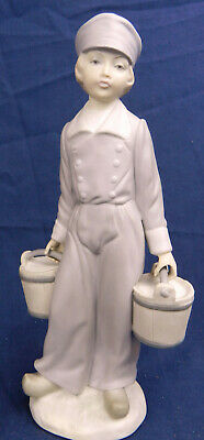 £29 • Buy Lladro Dutch Boy With Pails 4811 Retired 1988 First Quality Excellent Condition