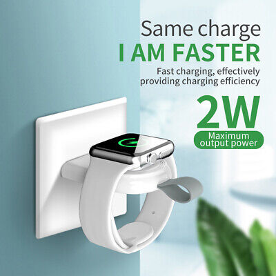 $ CDN7.04 • Buy For Watch Series 5 4 3 Portable USB Charger Cordless Charge IWatch 38-44mm