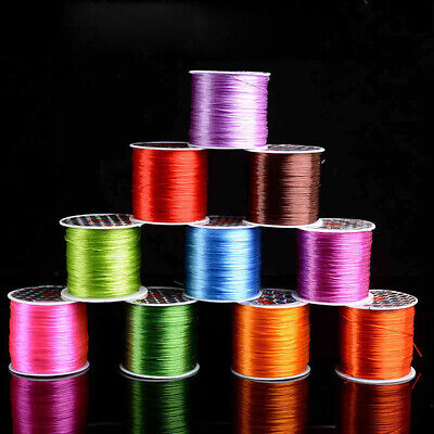 $ CDN5.65 • Buy 1 Roll Elastic Stretchy Beading Thread Cord Bracelet String For Jewelry Making