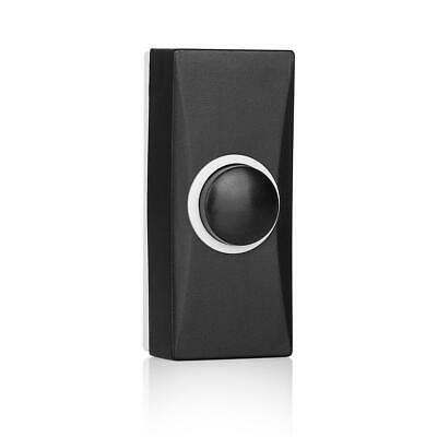 £4.80 • Buy Black Door Bell Push Button Byron Wired
