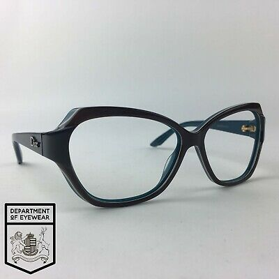 CHRISTIAN DIOR Eyeglasses BROWN CATS EYE Glasses Frame MOD: DIORZAZA2 • 65£