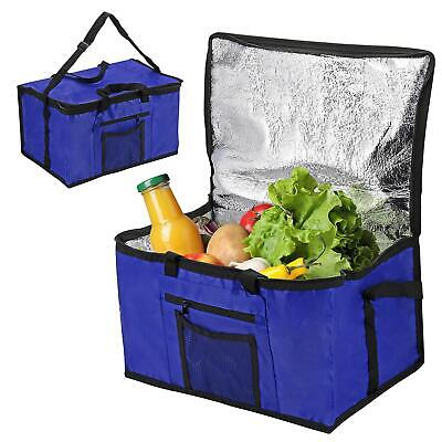 £7.99 • Buy Extra Large Cooling Cooler Cool Bag Box Picnic Camping Food Ice Drink Blue 26l