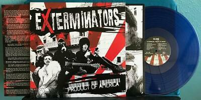 Exterminators Product Of America~nm Election Day 2016 Blue Vinyl Lp~insert~inner • 16.13£