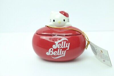 Jelly Belly Hello Kitty Jelly Bean Jar Collectible Ceramic Container • 10.02£