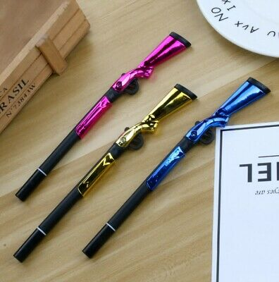 £2.99 • Buy Novelty Sniper Rifle Gun Shaped Pen Bendable Stationery Gift Boy Party Loot Bag