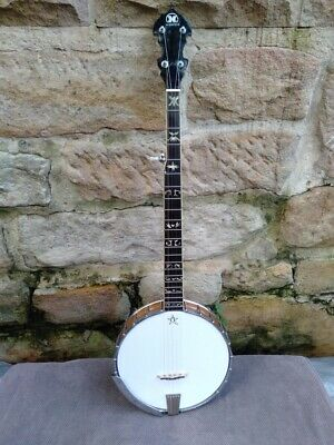 AU950 • Buy Banjo 5 String ... Top-of-the-line HONDO (1970s) ... Very Good Condition