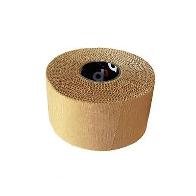 D3 RST Rigid Strapping Tape Elastic Zinc Oxide Sports Support Tape Beige • 7.95£