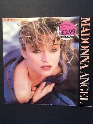 £11 • Buy MADONNA ANGEL EXTENDED DANCE MIX 12  EP VG/VG W8881T SIRE Label
