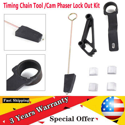 $35.01 • Buy 3V Timing Chain Tool /Cam Phaser Lock Out Kit Fit 2005-2014 Ford 4.6L &5.4L Fast