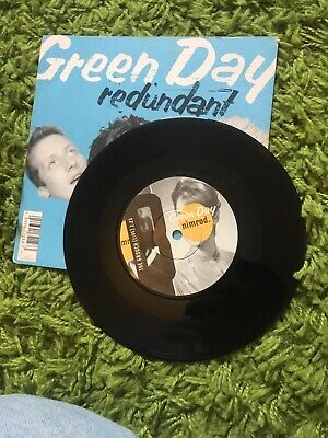 GREEN DAY - REDUNDANT - RARE U.K. 7  SINGLE + PIC SLEEVE 1997 Good Condition • 10£