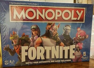 $15.20 • Buy Monopoly: Fortnite Edition Board Game Inspired By Fortnite Video Game Ages 13+