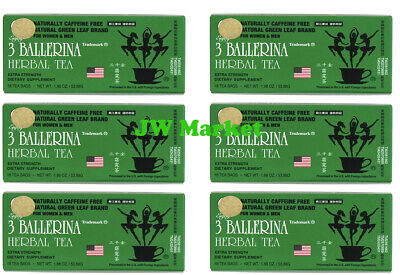 £20.46 • Buy 6 BOXES, 3 BALLERINA TEA DIETERS DRINK WEIGHT LOSS DIET EXTRA STRENGTH 108 Bags