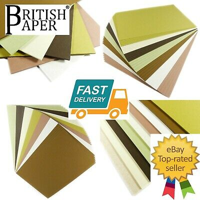 A5 A4 Coloured Craft Cards Stock Printer Paper Glitter Pearlescent Kraft Blanks  • 2.29£