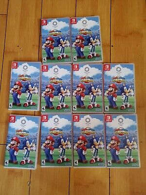 $349.99 • Buy Mario & Sonic At The Olympic Games: Tokyo 2020 - Nintendo Switch Lot Of 10