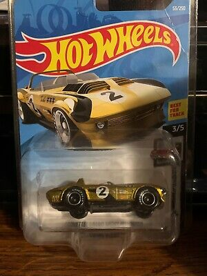 $25 • Buy Hot Wheels 2019 Super Treasure Hunt Corvette Grand Sport