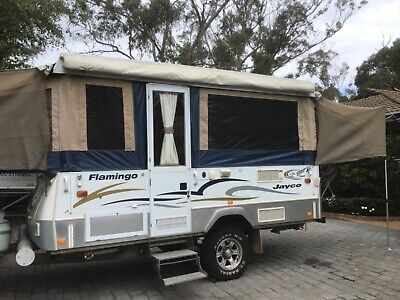 AU21000 • Buy 2007 Jayco Flamingo Outback Camper Trailer With EXTRAS.