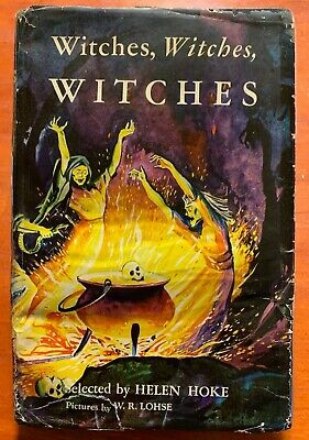 $ CDN63.46 • Buy VINTAGE Halloween Book WITCHES, WITCHES, WITCHES Helen Hoke 1st Printing HC W/DJ