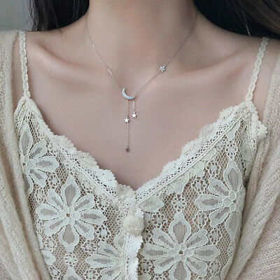 AU9.80 • Buy Tassel For Women Pendant Necklaces Clavicle Chain Fashion Accessories Jewelry
