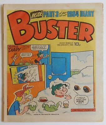 BUSTER Comic - 14th January 1984  • 2.99£