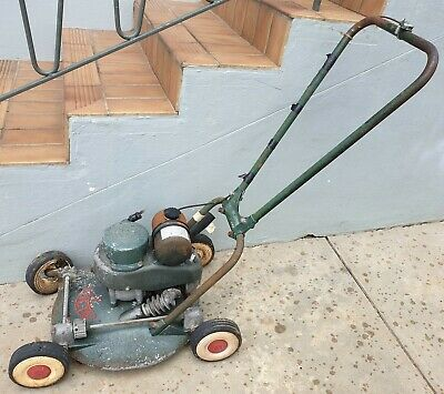 AU200 • Buy VICTA 18 LAWN MOWER 1950's - PICK UP RYDE 2112