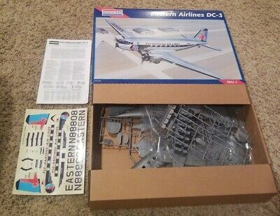 Monogram 1/48 Eastern Airlines DC-3  Airplane Model Kit Scale 1995 Kit #5610 New • 39.04£