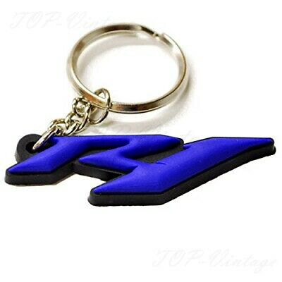 AU9.99 • Buy 【 R1】 Motorcycle Rubber Keyring Keychain Key Chain Ring For YAMAHA YZF R1 YZFR1
