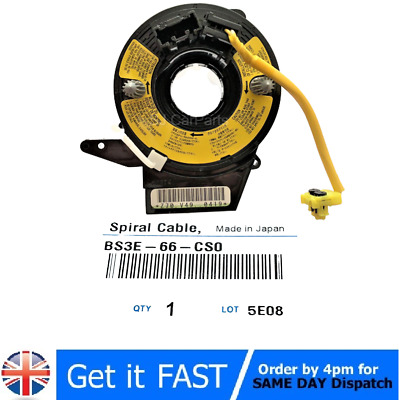 AU68.89 • Buy Spiral Cable Clock Spring For Mazda 3 BK  2003-2009 1.6 2.0  BS3E66CS0