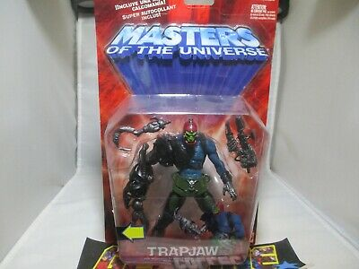 $44.95 • Buy Masters Of The Universe Gold SKELETOR+WEAPONS Accessories Carded & Sealed 2002