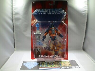 $34.95 • Buy Masters Of The Universe MAN-E-FACES 200X+WEAPONS Carded & Sealed 2002