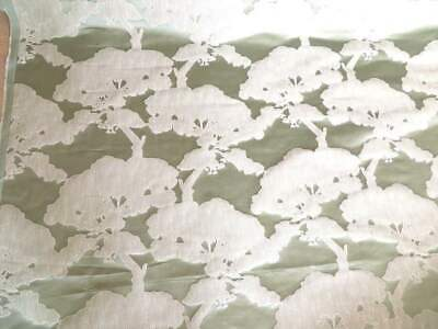 John Lewis Furnishing Fabric 'KOMAKO' Mint Green For Sale By The Metre • 7.99£