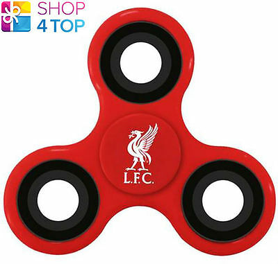 Liverpool Fidget Spinner Diztracto Spinnerz Football Soccer Club Red New • 5.36£