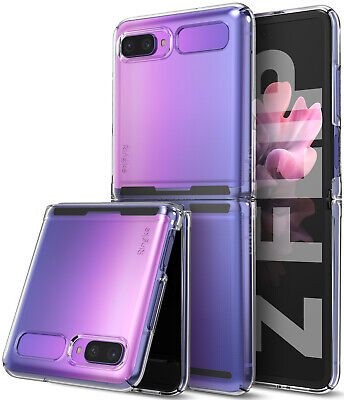 AU27.13 • Buy For Samsung Galaxy Z Flip Case (2020) Ringke [Slim] Protective PC Clear Cover