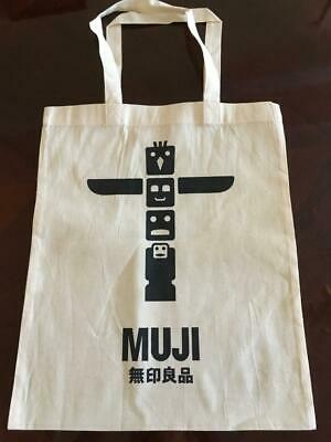 $11.12 • Buy Lot Of 10 X MUJI MoMA JAPAN Organic Cotton Tote Shopping Bag Unbleached A3 Size