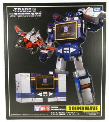 $58.89 • Buy New Transformers Masterpiece Communications Mp-13 Soundwave Laser Bird Boxed