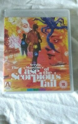 The Case Of The Scoprion's Tail   Blu-ray  Sergio Martino New & Sealed  • 14.99£