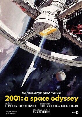 £3.99 • Buy 2001 Space Odyssey MOVIE POSTER - DIFFERENT SIZES - FRAMED OPTION (so002)