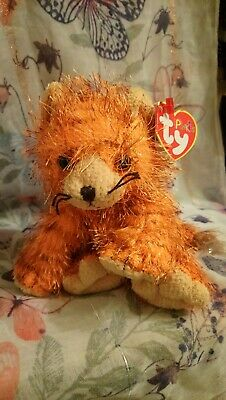 Ty Punkies  Tropics  The Cuddly Orange Cat With His Spiked Fur W/Tags.        46 • 7.55£