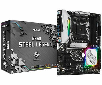 AU169 • Buy ASRock B450 Steel Legend Motherboard