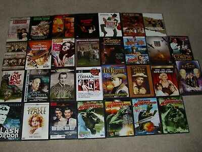 $ CDN33.64 • Buy LOT OF DVDs  OLDIES  70 MOVIES. GOOD CONDITION.