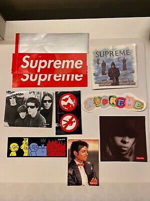 $ CDN69.46 • Buy Supreme Stickers Pack Few Different Seasons