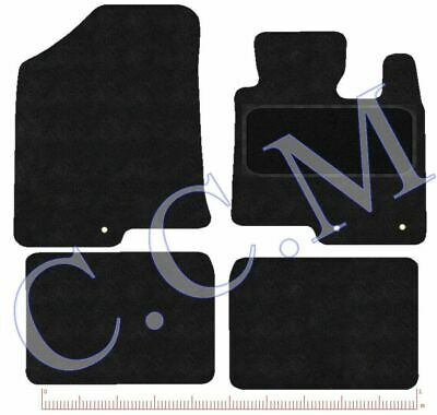 HYUNDAI I40 TAILORED CAR MATS WITH HEELPAD IN 450 & 650 GSM CARPET With 3 Clips • 13.99£